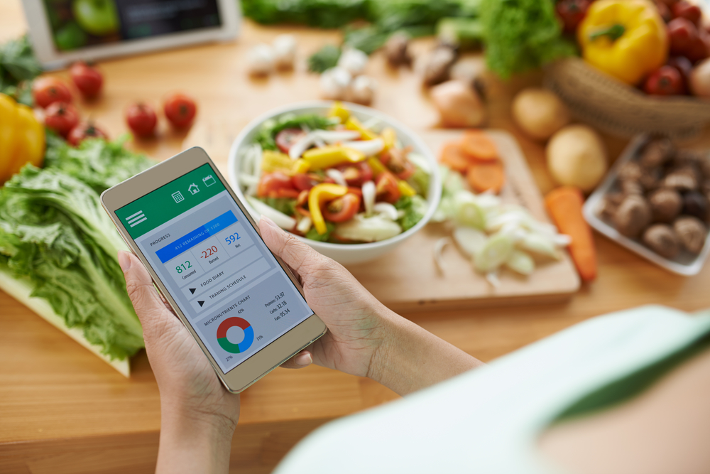 Healthy living app